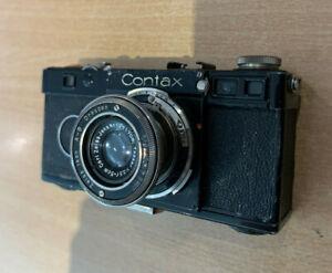 Contax I     Typ: Sucher-Kamera A.U.65613