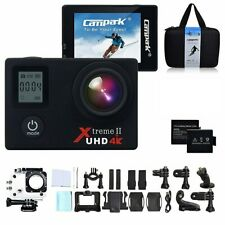 Campark 4K Underwater Action Camera ACT76 IP68 Waterproof Case 16 MP