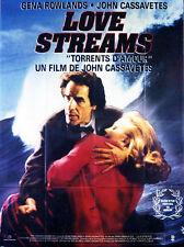 Affiche 120x160cm LOVE STREAMS /TORRENTS D'AMOUR 1985 Cassavetes, Rowland NEUVE