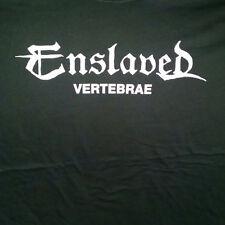 Enslaved-Vetebrae Girlie T-shirt Twe sided ENSLAVED girlie shirt (as pictured)
