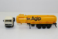 hg1180, Alter Herpa LKW tank - Sattelzug Fiat Iveco Agip 1:87 / H0
