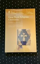 Great World Religions : Christianity (2003, CDs) Great Courses NEW
