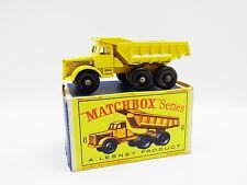 "LOT 33346 | Matchbox 6 C Euclid Quarry Dump Truck LKW neuwertig in ""D""-Box"