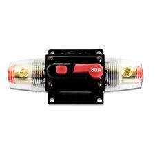 KFZ 60A Automatiksicherungshalter Sicherungshalter Sicherung Automat 12V 24V