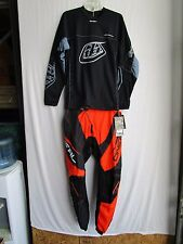 MEN'S combo ONEAL motocross pants sz 30,Troy Lee jersey MEDIUM blk/org