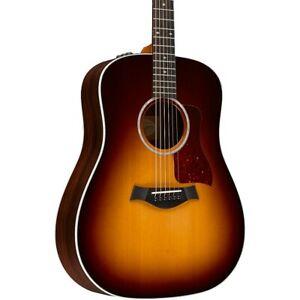 Taylor 210e-DLX Dreadnought Acoustic-Electric Guitar Tobacco Sunburst