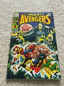 Avengers  67  Fine  6.0  Iron Man  Captain America  Thor  Vision  Black Panther