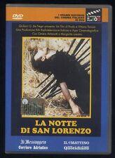LA NOTTE DI SAN LORENZO - DVD grandi successi cinema italiano 356