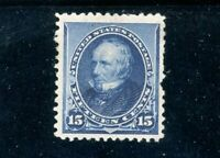 USAstamps Unused VF US Series of 1890 Clay Scott 227 OG MHR