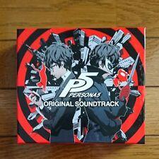 PERSONA5 PERSONA 5 ORIGINAL SOUNDTRACK 3 CD Japan
