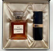 Chanel NO 5 PARFUM EXTRAIT 14 ml 0.47 FL OZ VINTAGE SET