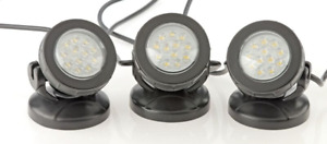 OASE PONTEC PONDOSTAR LED POND LIGHTS UNDERWATER GARDEN LIGHTING SET 3 SET 6