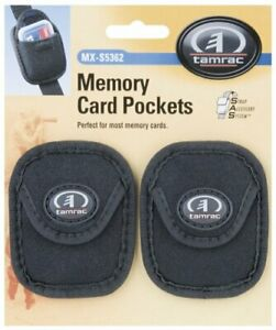 Tamrac MX-S5362 S.A.S. Memory Card Pockets - 1 pair (Black)