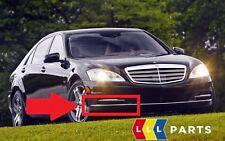 NUOVO Originale Mercedes MB Classe S W221 PARAURTI ANTERIORE INFERIORE DESTRO Chrome Trim