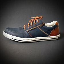 965dc2a57e7c Rieker Herren Schuhe Sneakers Halbschuhe Schnürsche blau NEU REDUZIERT SALE