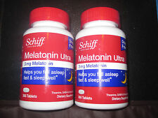 Melatonin Ultra Schiff 3 mg Melatonin 2-365 Tablets Sleep Support with GABA