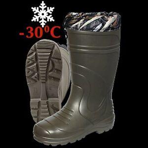 Haski-light Winter Hunter Fishing Warm Waterproof Boots Shoes Outwear -30C .