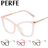 Women Anti-blue Light Optical Glasses Cat's Eye Style Myopia Glasses Frames New