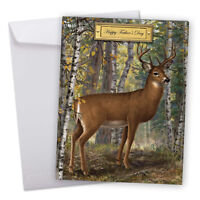 J9685EFDG Jumbo Father's Day Card: Into The Woods Greeting Card With Envelope