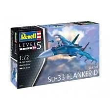 Revell 03911-1/72 Sukhoi Su-33 Azul Marino Flanker D - Nuevo