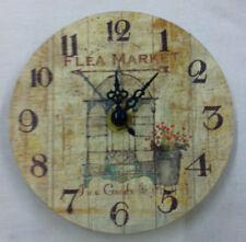 Shabby Chic Wall Clock - Small 12cm Diameter- by Heaven Sends Flea Market Design