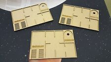 Star Wars X-Wing Ship damage and Upgrade Card Tray x3