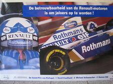 "Rothmans Williams Renault FW17 1995 #6 David Coulthard ""Winner GP Portugal"""