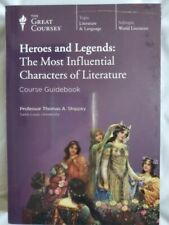 NEW The Great Courses Heroes & Legends Characters of Literature Guidebook & DVD