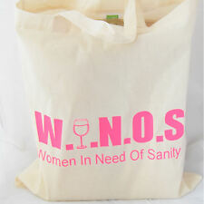 Tote Bag for ladies who love wine ideal birthday gift