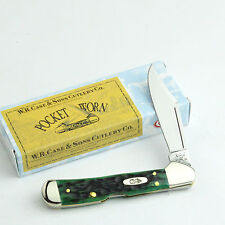 Case XX Pocket Worn Bermuda Green Bone Mini Copperlock Pocket Knife 09723 61749L