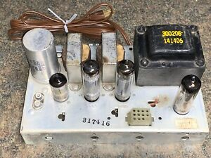 Vintage Magnavox AMP 8608-10 Single-Ended Stereo 6BQ5 EL84 TUBE AMPLIFIER