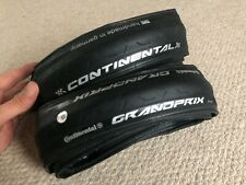 Continental Grand Prix Clincher Tyres (x2) 622/25mm Black - NEW