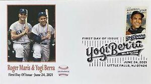 AFDCS Baseball's Yogi Berra NY Yankees Yogi Berra Roger Maris Big Bats SloganCXL