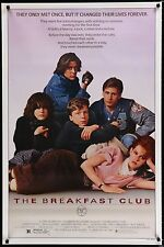 THE BREAKFAST CLUB 1985 Movie Poster 27x41 ROLLED #TheBreakfastClub #MoviePoster
