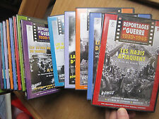 DVD-REPORTAGES DE GUERRE 1939-1945 - Série de 14DVD+1 Hors-série- Comme NEUF