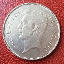 Belgique - Albert Ier -  Très Joli et rare 20 francs/ 4 belgas 1932 FR   - pos A