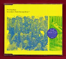 PET SHOP BOYS - Se a vida é (The Mix CD) (1996 4 trk CDS)