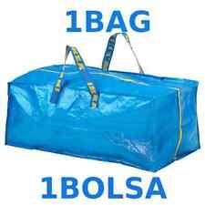IKEA FRAKTA SHOPPING BAG LARGE REUSABLE LAUNDRY TOTE GROCERY STORAGE 20 Gallon