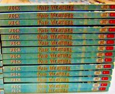 14 COPIES OF FAIR WEATHER BY RICHARD PECK - CLASS SET GUIDED READING