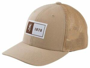 BROWNING STAMPED TAN - HATS CAP - 30827348