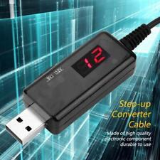 DC Boost Converter DC 5v To 9V 12V USB Power Supply Charger For 3.5 Plug