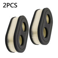 2pcs Air Filters For Briggs & Stratton 550E-550EX 798452 593260 Lawn Mower Parts