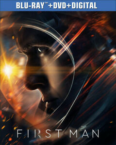 First Man [New Blu-ray] With DVD, 2 Pack, Digital Copy