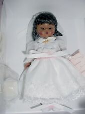 "Madame Alexander First Communion AA Brunette Doll 8""  NIB FREE SHIPPING"