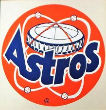 Houston Astros Vintage Original Decal Sticker 13 inches