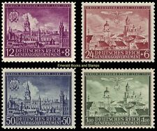 EBS Generalgouvernement 1942 600th Anniversary Lublin set Michel 92-95 MNH**