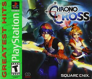 Chrono Cross [Sony PlayStation 1 PS1 Square Enix RPG 40 Characters Retro] NEW