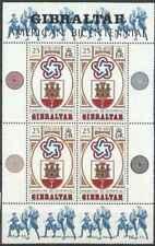 Timbres Gibraltar BF2 ** lot 22125 (bloc feuillet plié)