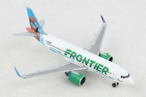 NEW 1:500 HERPA FRONTIER AIRLINES AIRBUS A320-200 N308FR MODEL 534697