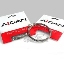 AICAN Stainless Mountain MTB Road Bike Derailleur Inner Cable Wire - 2 pcs
